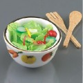 Salad Bowl with autlery